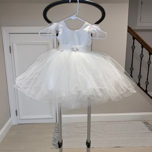 PARTY HOLIDAY FLOWER GIRL DRESS